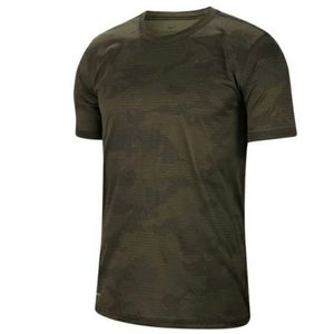 Nike Olive Green Legend Novelty Camo Shirt